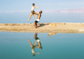 Acro Yoga in the Dead Sea